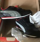 Puma Speed Light Up Kids Youth US 115 shoes new in box black  gray toddler