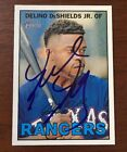 DELINO DESHIELDS JR. 2016 TOPPS HERITAGE AUTOGRAPHED SIGNED AUTO CARD 314 RANGER