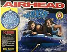 Inflatable Water Towable Tube Airhead 2 Rider Person Sportsstuff Deck Boat Lake