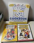 Biggest Loser Cookbook Healthy Recipes  2 workout DVDs maximum weight lose SEE