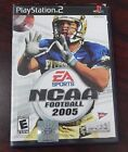 EA Sports NCAA Football 2005 Video Game Sony Playsttion 2 Complete W/ Book