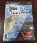 Mark Davis Pro Bass Challenge Video Game Sony Playsttion 2 Complete W/ Book