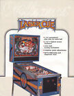 WILLIAMS LASER CUE NOS PINBALL MACHINE FLYER BROCHURE
