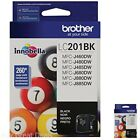 Brother Black Ink Cartridge Standard Yield Printer LC201BK Innobella Letter A4