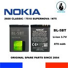 ORIGINAL REPLACEMENT BATTERY NOKIA BL 5BT OEM 870mAh 32Wh 37V BATTERIE GENUINE
