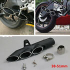 1x New Exhaust Muffler Pipe Three-outlet Tail Pipe For Motorcycle Exhaust System