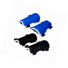 OutMall Youth Child Soccer Shin Pad 2 Pair Perforated Breathable Soccer Shin Gu