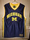 Colosseum Michigan Wolverines Large Basketball Jersey No number