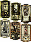 12 HALLOWEEN WITCHES SPIRITS SPOOKY HANG GIFT TAGS FOR SCRAPBOOK PAGES 85