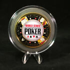 World Series of Poker Large GOLD Card Guard
