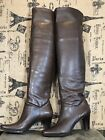Liz Claiborne Flex Sexy Tall Brown Over The Knee Boots Size 8 1 2 M 188M
