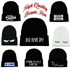 WOMEN'S MEN'S FUN BEANIE HATS WOOLY KNITTED WINTER HATS