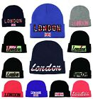 LONDON DESIGN BEANIE HATS WOOLY KNITTED WINTER HATS