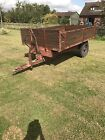 Pettit 3 Ton Tipping Trailer Muck Trailer Tractor Trailer Hydraulic Tipping