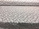 Glamour Maze Jacquard 55gold silverDrapery upholstery fabric by the yard