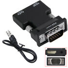 Ultra small 1080P HDMI Female to VGA Male Converter with Audio Adapter