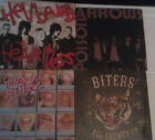 BITERS POISON ARROWS RARE OOP CD EP LOT PUNK GLAM NOT LP IT'S OK ALL CHEWED UP
