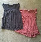 Lot Of 2 Xhilaration Tops Sz S Rose Pink  Earth Brown