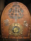 PHILCO STEAMPUNK WOODEN Cathedral ANTIQUE w MODERN Bluetooth WORKING STEREO