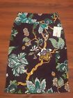 NWT Lularoe Cassie skirt size small deep purple with florals unicorn
