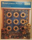 Black Mountain SUNFLOWER PATCH quilt pattern book pumpkin acorn socks Halloween