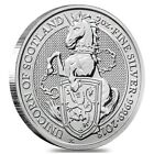 2018 Great Britain 2 oz Silver Queen's Beast (Unicorn of Scotland) Coin .9999 Fi
