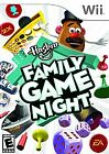 Hasbro Family Game Night (Nintendo Wii, 2008) COMPLETE, GREAT SHAPE