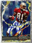 San Francisco 49ers Terrell Owens Signed 1997 Fleer Metal Universe Auto Card