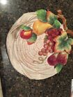 Vintage Fitz and Floyd Country Gourmet 10in. Canape Plate