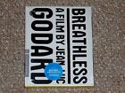 Breathless Criterion Collection Blu ray 2016 Brand New Jean Luc Godard
