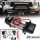 SB 9500lb 12V Electric Recovery Winch for Truck SUV Wireless Remote 9500lbs