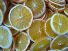 PRIMITIVE HOME DECOR - 20 FRESHLY DRIED ORANGE SLICES - BOWL/CANNING JAR FILLER