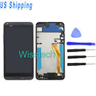 LCD Parts Touch Screen Digitizer Frame Assembly Black For HTC Desire 816D816 +Ts