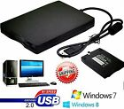 LOT 20 144MB 35 Inch USB External Floppy Disk Drive Diskette FDD for Laptop A