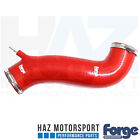 Forge Motorsport Intake Inlet Hose + Clamps Ford Fiesta Mk7 ST ST180 1.6T RED