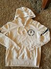 victorias secret PINK tan hoodie size womens small