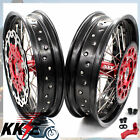 KKE WHEEL FIT HONDA XR650L 1993-2018 SUPERMOTO RIM 3.5*17/4.25*17 AND 320MM DISC