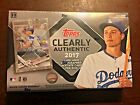 2017 Topps Clearly Authentic Baseball Factory Sealed Hobby Box 1 Auto