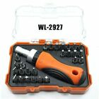 27-in-1 Torx Hex +/- Bits Precision Ratchet Screwdriver Tool Set