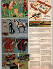 1973 PAPER AD Marx Johnny Jane West Action Figure Geronimo Camper Jeep