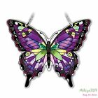 Swallowtail Butterfly Suncatcher Purple Amia Window Display Prop Stained Glass