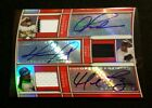JSY AUTO 36 2010 Topps Triple Threads ALEX RODRIGUEZ DAVID ORTIZ MANNY RAMIREZ