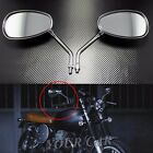 Pair Universal ATV Scooter Moped Motorcycle Cruiser Bike Rear View Side Mirror