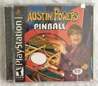 NEW Austin Powers Pinball for Playstation 1 PS1 Brand New! Factory Sealed! Game