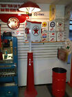 CLASSIC 1930S 1940S 1950S TEXACO STAR GAS STATION ISLAND LIGHT WITH TOWEL BOX