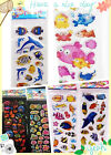 New 3D Puffy Kids Scrapbooking Paper Crafts Party Favors Stickers Lot