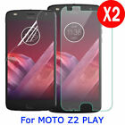2X Tempered PET Soft Glass Screen Protector For Motorola Moto Z2 Play Droid