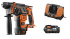 AEG 18V SDS Rotary Hammer Drill, Multi Tool, Random Orbit Sander and 5Ah Battery