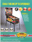 POOL SHARKS By BALLY 1990 ORIGINAL NOS PINBALL MACHINE PROMO SALES FLYER