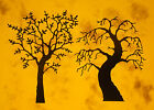 12 Memory Box Trees CARD TOPPER die cut out Halloween Gnarly